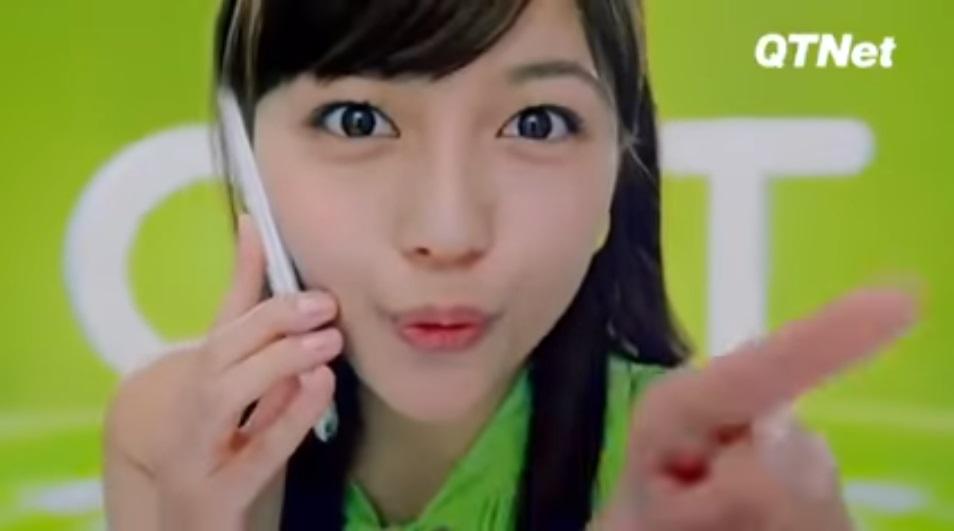 QTモバイルCMの女優「川口春奈」がかわいすぎも似合わない&号泣の裏話。