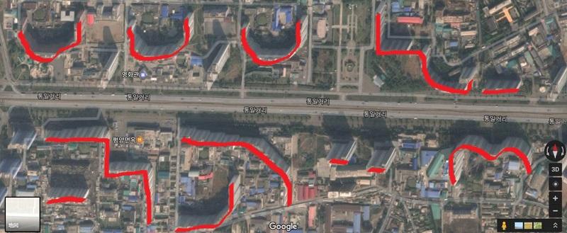 北朝鮮の高層ビル群がハリボテだったとGoogleマップで判明!?