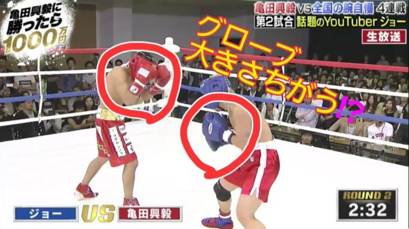 亀田興毅1000万チャレンジは八百長のやらせ?グローブとヘッドギアの差がすごい訳。