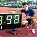 桐生祥秀が100m9秒98!日本記録の推移と世界の比較はどうなる?