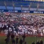 稲村亜美始球式で暴走中学生がTwitterで自慢!炎上・怖いなどのコメント相次ぐ